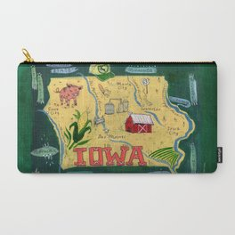 IOWA Carry-All Pouch