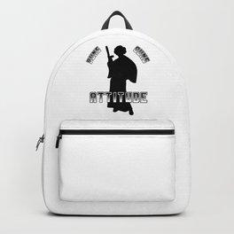 Buns Guns Attitude1 Backpack