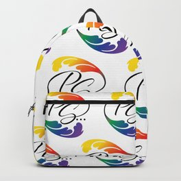 PS...Burlesque pattern Backpack