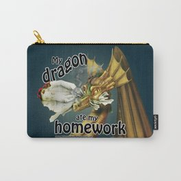 My Dragon Ate My Homework Carry-All Pouch