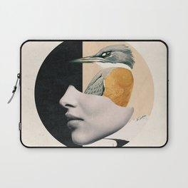 collage art / bird Laptop Sleeve