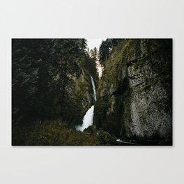 Wahclella Falls Canvas Print