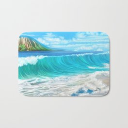 Mermaid's mountain Bath Mat