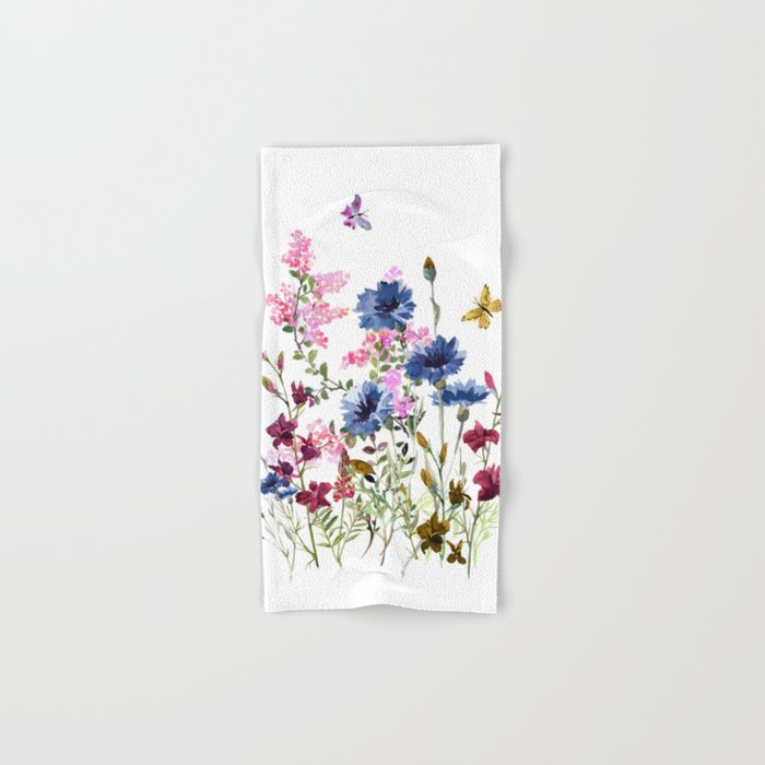 Wildflowers IV Hand & Bath Towel