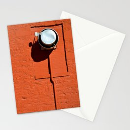 Industrial Red Stationery Cards