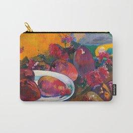 """Paul Gauguin """"Nature Morte Aux Mangos"""" Carry-All Pouch"""