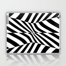 Black and white vision by lh Laptop & iPad Skin