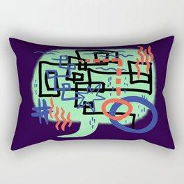Something to Say Rectangular Pillow
