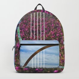 Lighthouse - circle graphic Backpack
