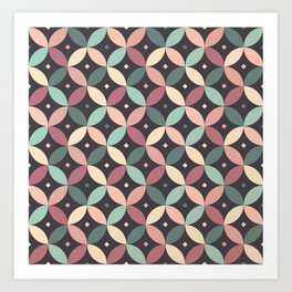pattern - june/20 Art Print