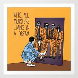 Forever Halloween Art Print