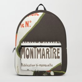 """Henri de Toulouse-Lautrec """"Les Chansonniers de Montemartre"""" Backpack"""