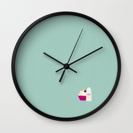 Eat me, drink me Wall Clock