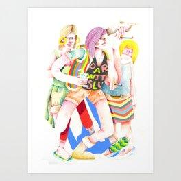 PARTWITSLU Art Print