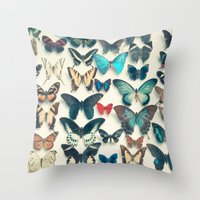 wings Throw Pillows featuring Wings by Cassia Beck