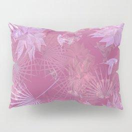 Pink Hummingbirds Pillow Sham