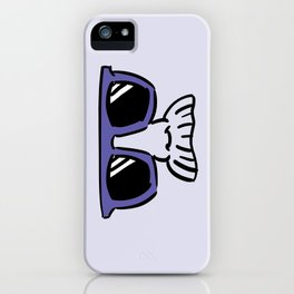 Too Cool (blue violet) iPhone Case