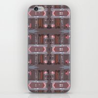 doors iPhone & iPod Skins featuring doors by Mackenzie Leigh