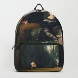 Francesco Hayez - Group portrait of the Borri Stampa family Backpack