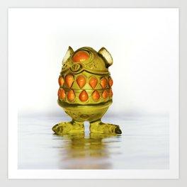 Monster Toy Art Print
