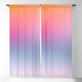 Rainbow Blush Blackout Curtain