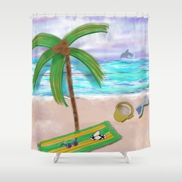 Play at Sea Shower Curtain