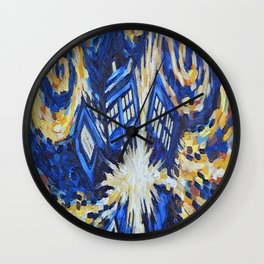Dr Who Wall Clock