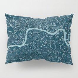 Minimalist London Map Pillow Sham