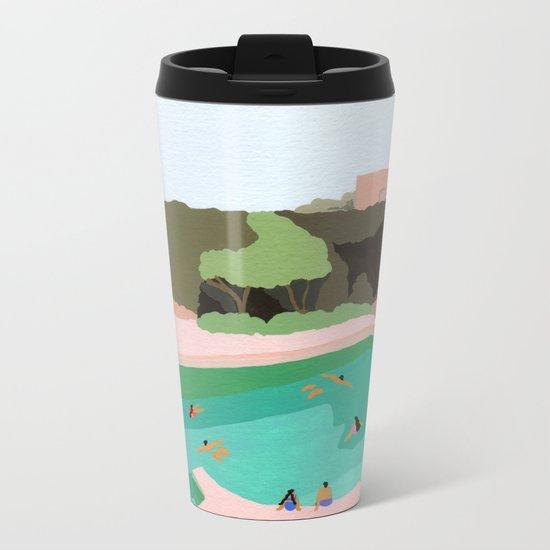 Backyard dip Metal Travel Mug