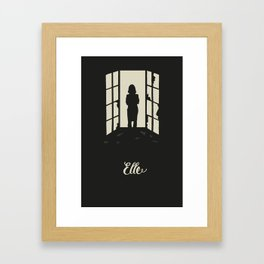 Elle I Framed Art Print