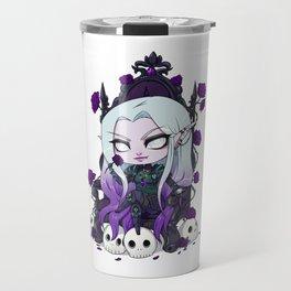 Chibi Gothic Elf Travel Mug