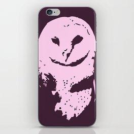 Barn Owl Tyto Alba Purple/Pink iPhone Skin