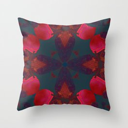 Mandala V Throw Pillow