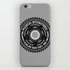 Mashers International (light grey) iPhone & iPod Skin