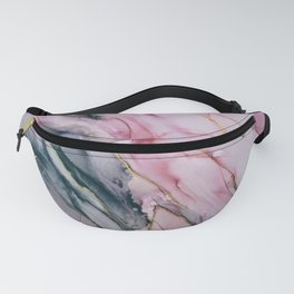 Pink Marble III Fanny Pack