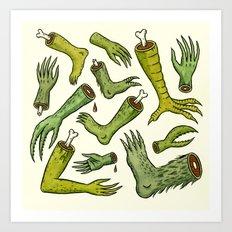 Disiecta Membra No. 2 Art Print