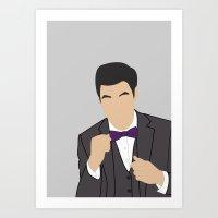 darren criss Art Prints featuring Darren Criss H2$ by Jessica