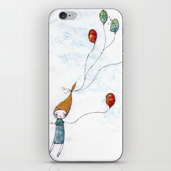 Balloonessa iPhone & iPod Skin