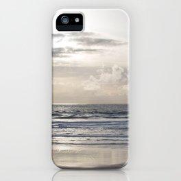 Silver Scene iPhone Case