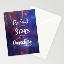 The Fault is not in our Stars, Dear Brutus Stationery Cards