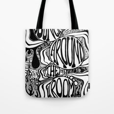 Bouncing Around the Room Tote Bag