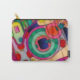 Fun With Coloring Silky Style Carry-All Pouch