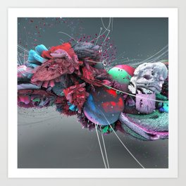 Ruido/Noise Art Print