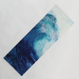 Waves II Yoga Mat