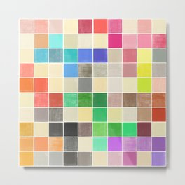 colorquilt 3 Metal Print