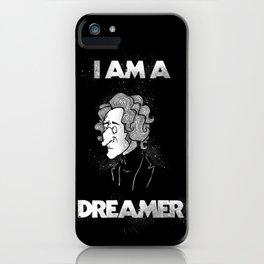 I am a Dreamer - Lennon Illustration iPhone Case