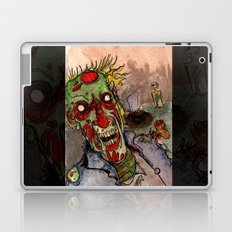 zombie grave rising Laptop & iPad Skin