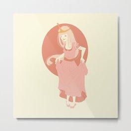 Pastel Bubblegum Metal Print