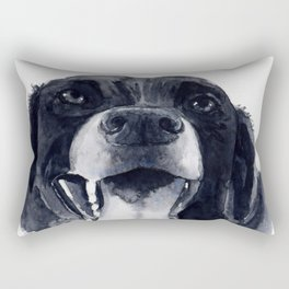 Happy Hound Rectangular Pillow