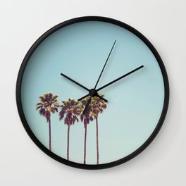 Vacation Feelings Wall Clock